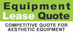 Get competitive quotes for leasing aesthetic equipment