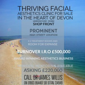 Thriving Clinic In South Devon For Sale